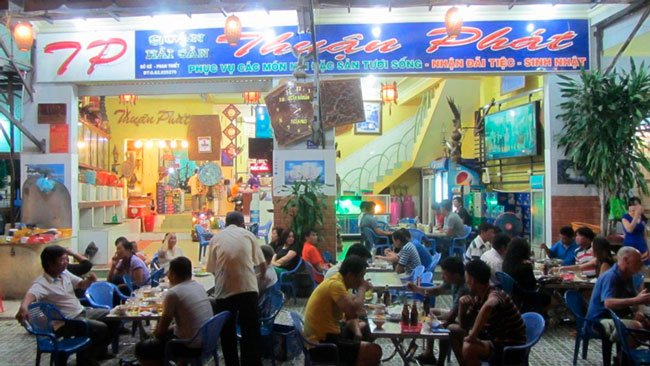 seafood restaurant phan thiet